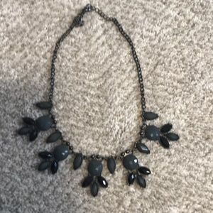 Grey and black chunky necklace